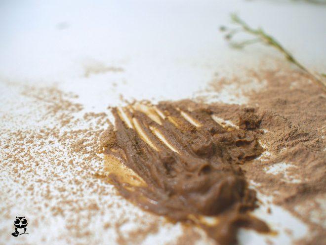 vulkanska maroška glina za obraz